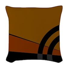 Earthtones Woven Throw Pillow