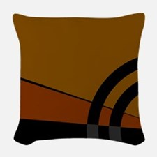 Earthtones Woven Throw Pillow