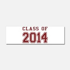 Class of 2014 (Red) Car Magnet 10 x 3