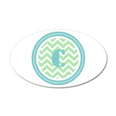 Teal & Green Wall Decal