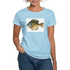 Bluegill Bream Fishing Women's Pink T-Shirt