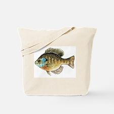 Bluegill Bream Fishing Tote Bag