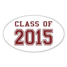 Class of 2015 (Red) Decal