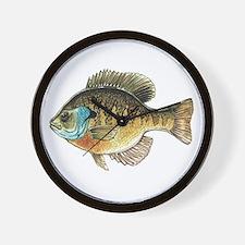 Bluegill Bream Fishing Wall Clock