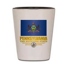 Pennsylvania Flag Shot Glass