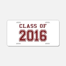 Class of 2016 Aluminum License Plate