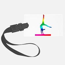 Flip Flop Rainbow Gymnast Luggage Tag