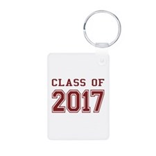 Class of 2017 Aluminum Photo Keychain