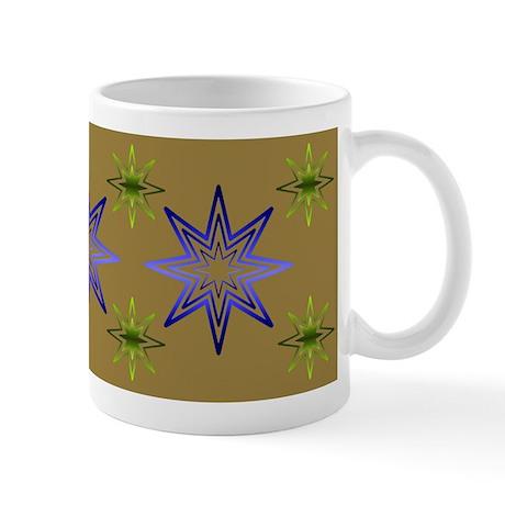 Awakening Star On Khaki Mug