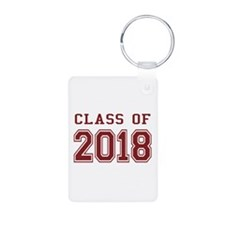 Class of 2018 (Red) Keychains