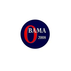 Obama 2008 Mini Button (100 pack)
