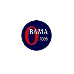 Obama 2008 Mini Button