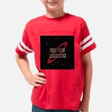 Roter Zwerg with stars Youth Football Shirt