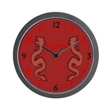 Ryofu Dragon Wall Clock