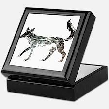 The Aging Silver Fox Keepsake Box