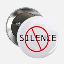 """No Silence 2.25"""" Button (100 pack)"""