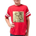 Alamo Flag 1824 Long Sleeve Blue T-Shirt