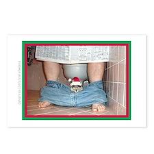 Xmas 2010 Postcards (8)-Santa Cat