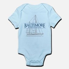 Baltimore Sailboat - Infant Bodysuit