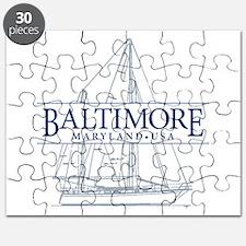 Baltimore Sailboat - Puzzle