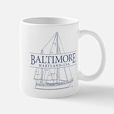 Baltimore Sailboat - Mug