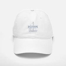 Baltimore Sailboat - Baseball Baseball Cap