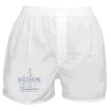 Baltimore Sailboat - Boxer Shorts
