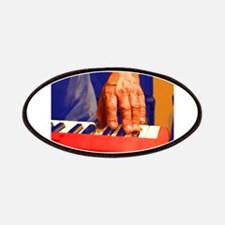 red keyboard left hand player Patches