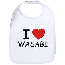 I love wasabi Bib