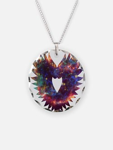 wings heart nebula Necklace