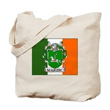 Maguire Arms Tricolour Tote Bag