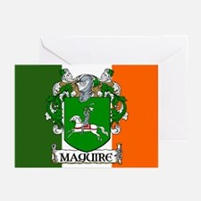 Maguire Arms Tricolour Cards (Pk of 10)