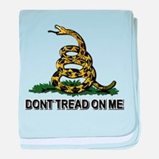 Dont Tread on Me baby blanket