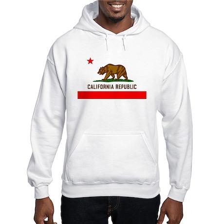 California Flag Hooded Sweatshirt