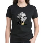 George Washington Women's Black T-Shirt