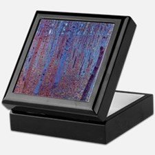 Beech Forest by Gustav Klimt Keepsake Box