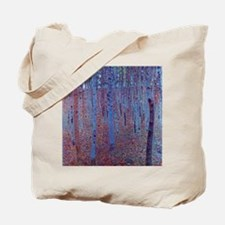 Beech Forest by Gustav Klimt Tote Bag