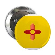 New Mexico Flag Button