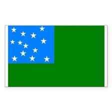 Green Mountain Boys Flag Decal