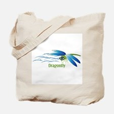 Dragonfly Water Tote Bag