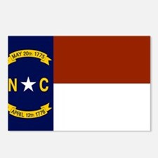 North Carolina Flag Postcards (Package of 8)