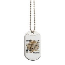 Vintage Music Dog Tags