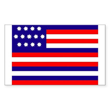 Serapis Flag Rectangle Sticker