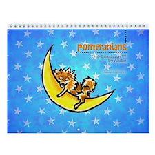 Pomeranians Off-Leash Art™ Vol 1 Wall Calendar