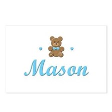Teddy Bear - Mason Postcards (Package of 8)