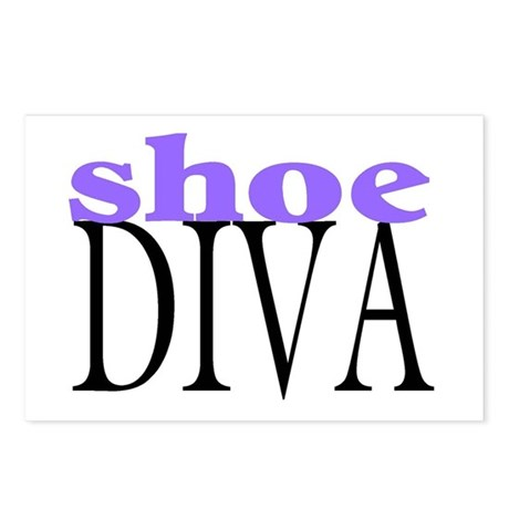 Shoe Diva Postcards (Package of 8)