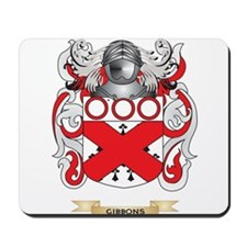 Gibbons Coat of Arms (Family Crest) Mousepad