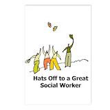Social worker Postcards