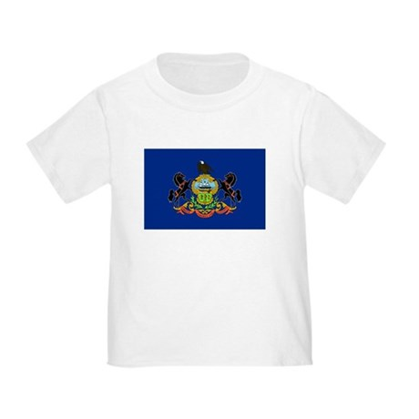 Pennsylvania Flag Toddler T-Shirt
