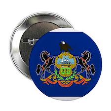 Pennsylvania Flag Button